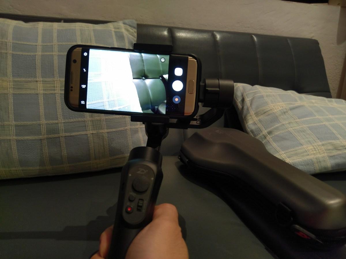 Review Zhiyun Smooth Q Gadgetreactor Tech Smartphone Gimbal