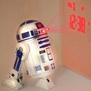 R2D2 Projector Clock