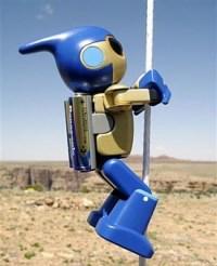 Panasonic Evolta Robot Climbs Grand Canyon