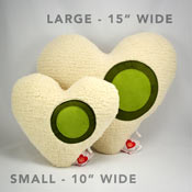My Beating Heart Relaxation Pillow