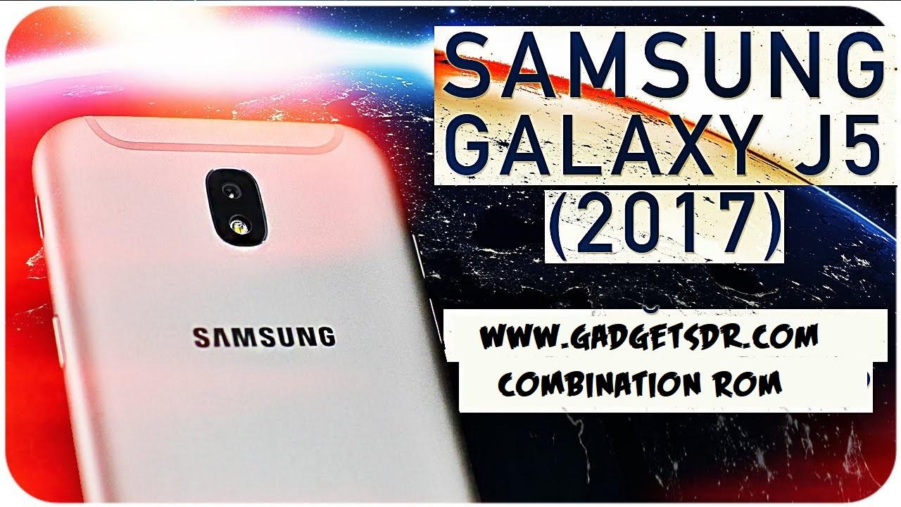 Samsung J5 2017 SM-J530G Combination Rom / Combination