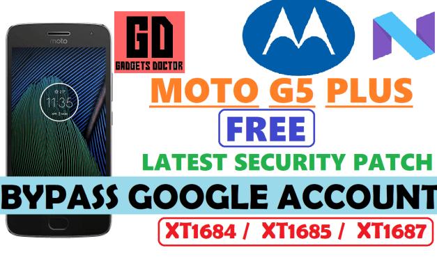 MOTO G5 Plus FRP Bypass Google Account (June 2017 Patch remove FRP)