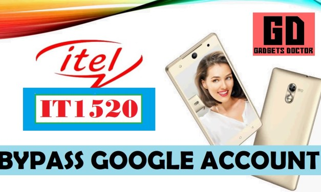 ITEl IT1520 FRP Bypass Google Account (Very Easy)