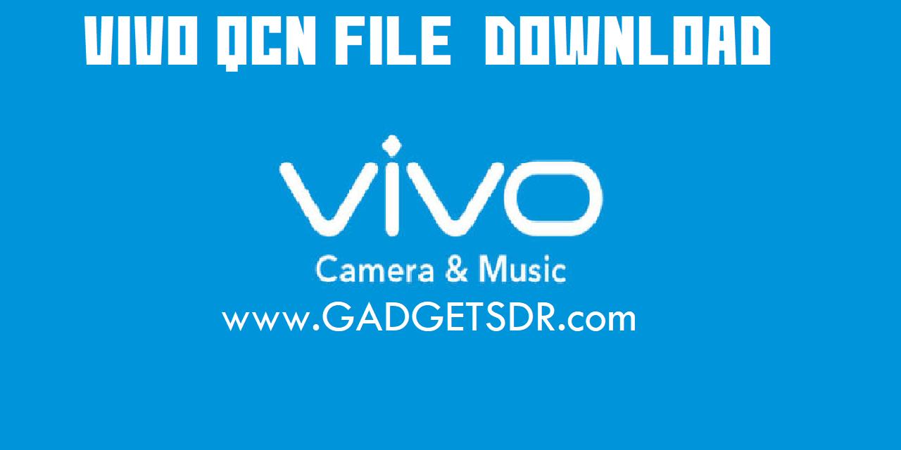 Vivo V7 (Vivo 1718) Qcn File Download