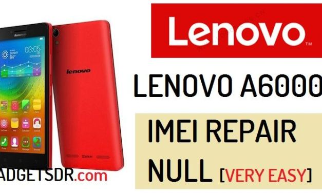 How to Repair IMEI Lenovo A6000 | Repair null Imei (without Any Box)