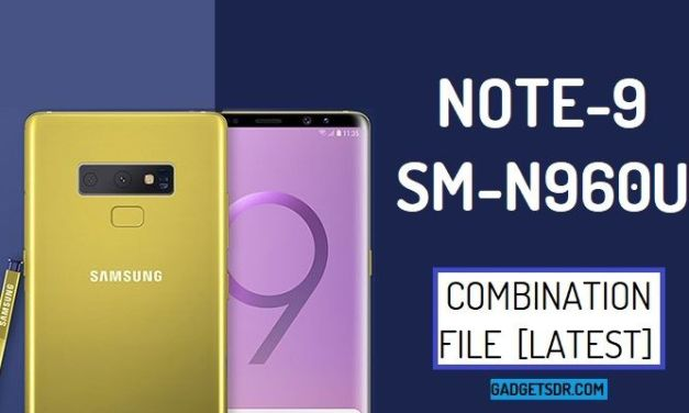 Samsung SM-N960U Combination Firmware Rom File