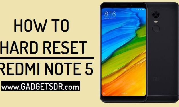 How to Unlock Pattern Lock Xiaomi Redmi Note 5 By Hard Reset