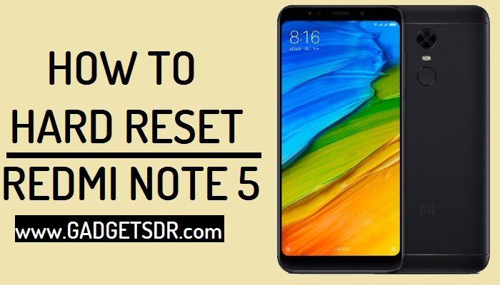 How to Unlock Pattern Lock Xiaomi Redmi Note 5 By Hard Reset
