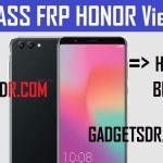 Bypass Google FRP Honor View 10 | Honor BKL-L09 FRP