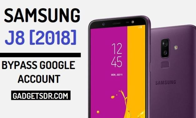 Bypass Google FRP Samsung Galaxy J8 (2018)