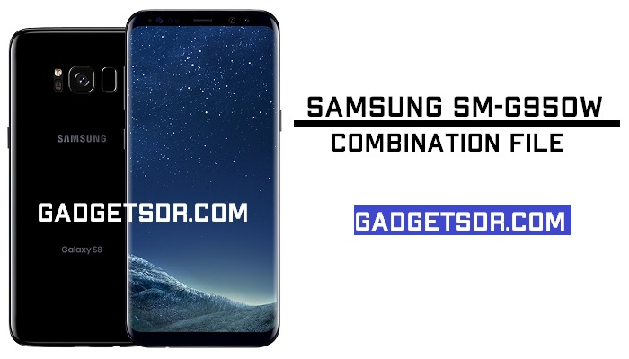 Samsung SM-G950W Combination File (Firmware ROM)-8.0