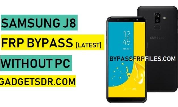 Bypass FRP Google Account Samsung J8 Without PC – J8 FRP Bypass