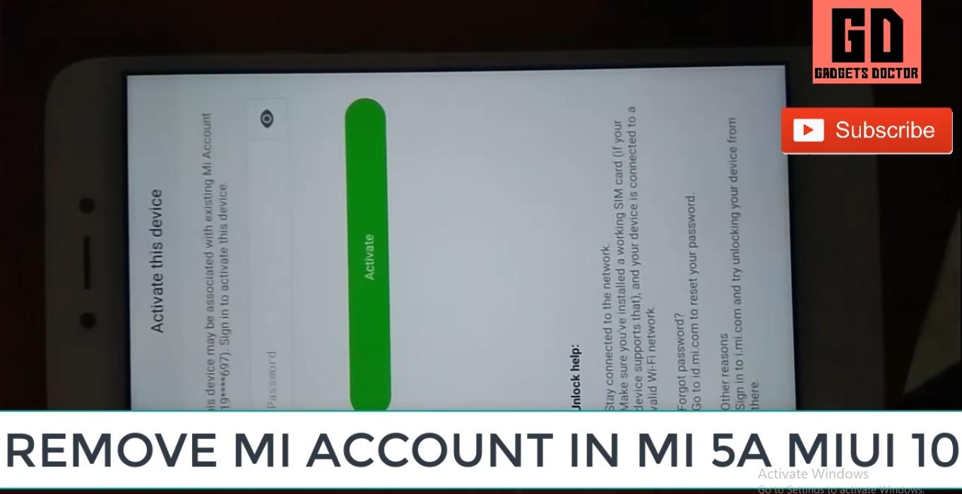 Redmi Note 4 Mi Account Bypass-MIUI 10 & MIUI 9 (Latest)