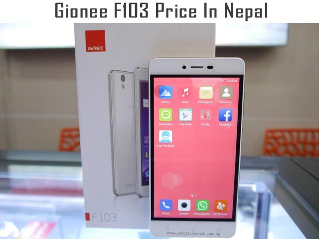 Gionee F103 price in Nepal