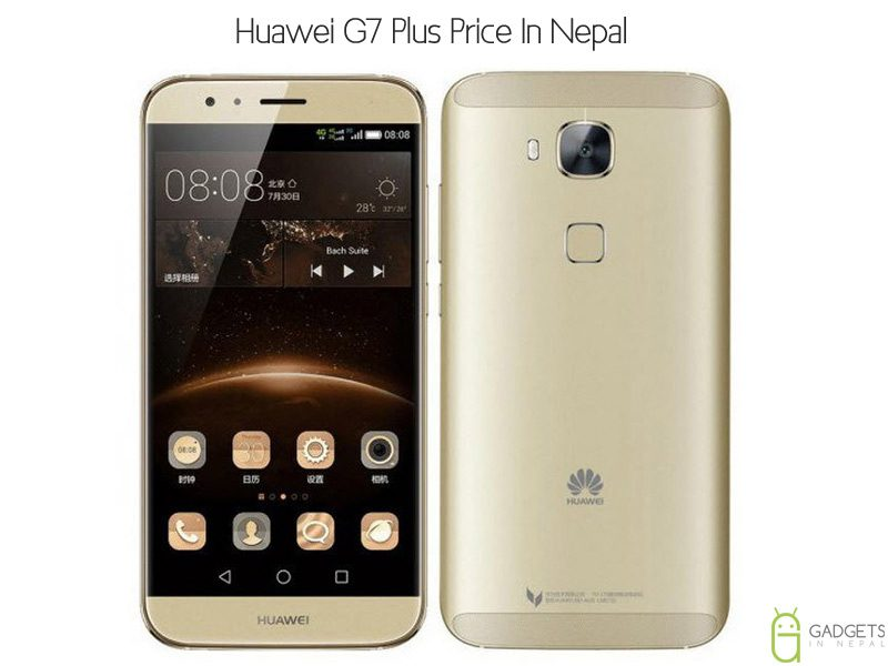 Huawei G7 Plus price in Nepal