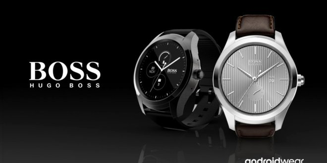 Hugo Boss Unveils it's First Android Wear SmartWatch