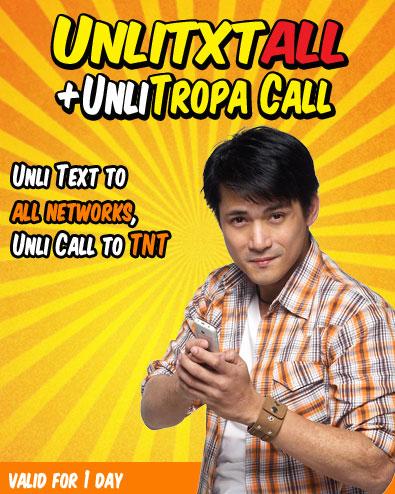 Unli Text ALL + Unli Tropa Call – Gadget Specs PH