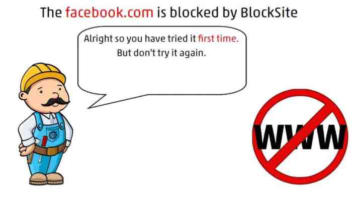 how to block websites on chrome