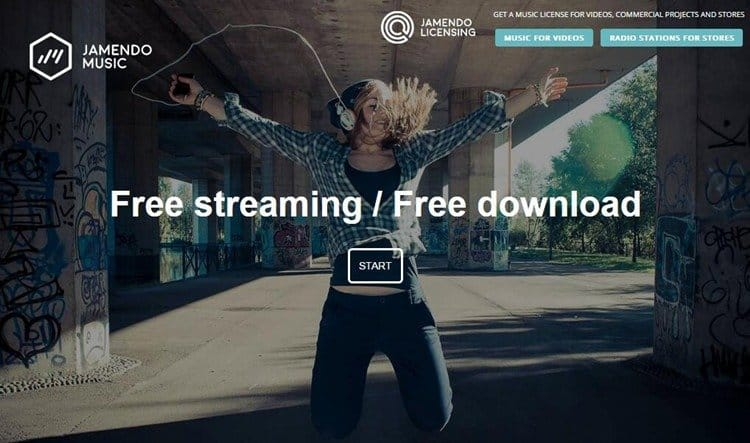 Free MP3 download site