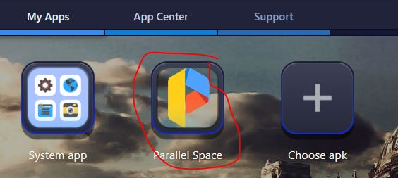 Download Parallel Space for Windows 7/8/10