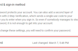 How to Change Gmail Password without any Information