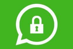 Lock WhatsApp account