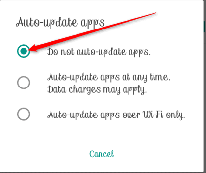How to Turn Off Automatic Updates Android