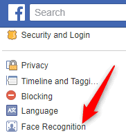 Disable Facebook Face recognition