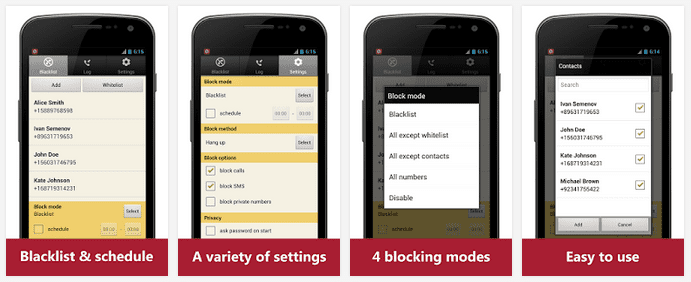 Call Blocker Apps