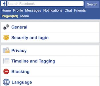 Single name on Facebook