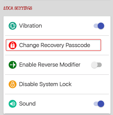 Screen Lock Time Password
