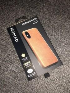 nomad goods iphone x phone case