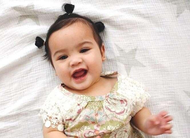 20 Bebs Fofos Que Nasceram Com Mais Cabelo Que O Normal
