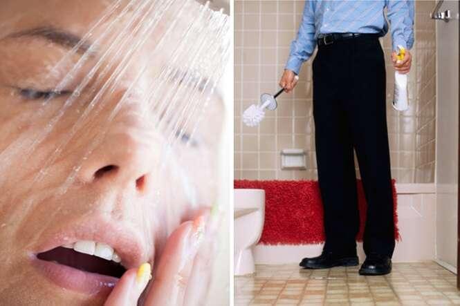 Estudante esconde câmera em escova de vaso sanitário para espionar colegas de casa