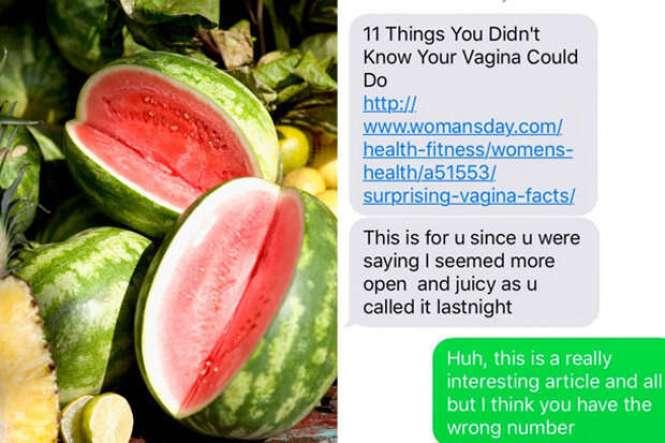 """Mulher envia mensagem sobre sua """"suculenta vagina"""" a número errado e recebe resposta surpreendente"""