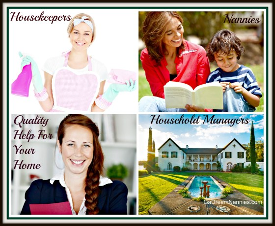 Georgia's Dream Nannies Governess, Housekeeper, Newborn Specialist, Nanny, Nanny Manager, Temporary, Live-In Nanny Services Explained