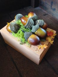 Just paint wooden box & add Fall decor