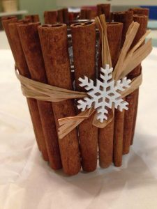 Christmas Crafts For Nannies Using Cinnamon Sticks