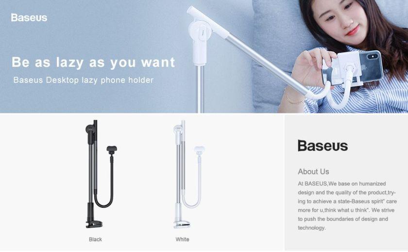 Baseus Unlimited Adjustment Lazy Phone Holder (1)