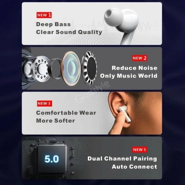 Lenovo Livepods Lp1 Tws Wireless Bluetooth 5 0 Earbuds (6)