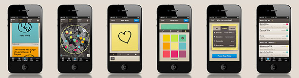 iPhone popNotes Post-it