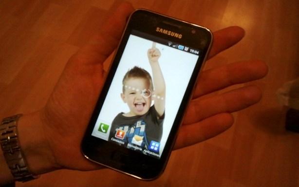 Probador del Samsung Galaxy S SCL
