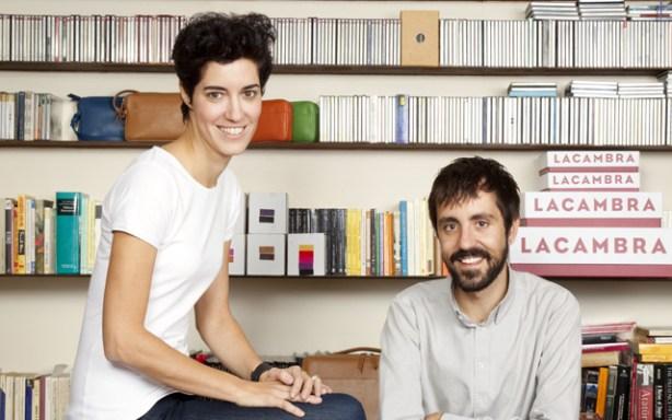 La fundadora y el diseñador de myLACAMBRA.com