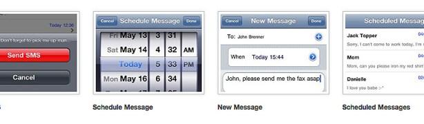 programar un SMS con SMS Scheduler