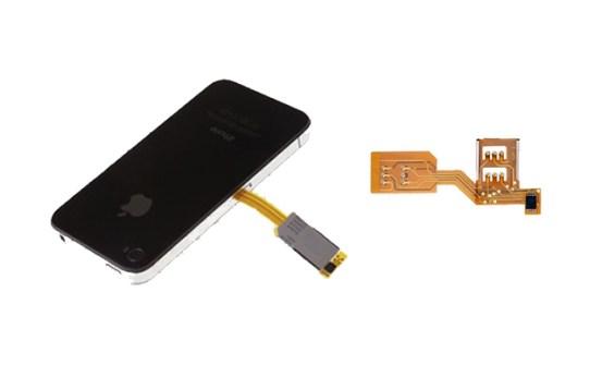 Adaptadores Dual SIM para el iPhone