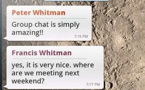 Whatsapp Android Mensajes