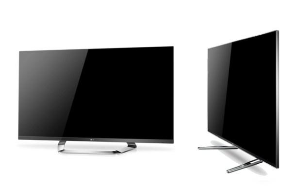 Los televisores de la gama Cinema 3D Smat TV de LG son muy finos