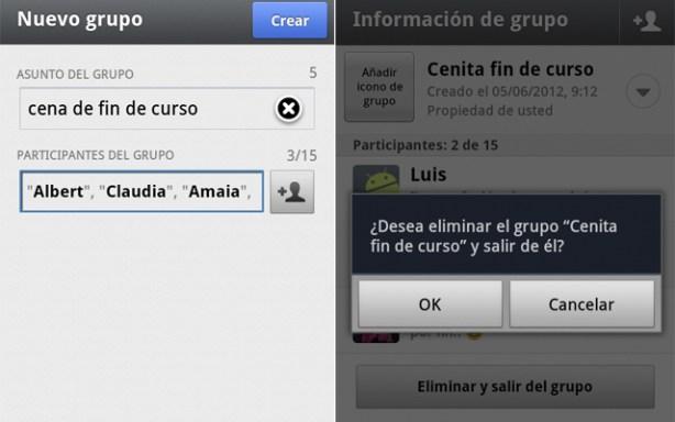 Crear grupos de contactos en Whatsapp es muy sencillo