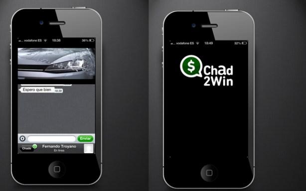 Con Chad2Win puedes llegar a ganar 25 euros al mes.