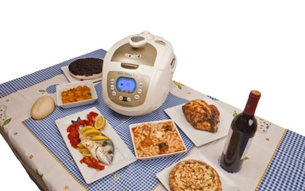 El robot de cocina Chef 2000 es programable.